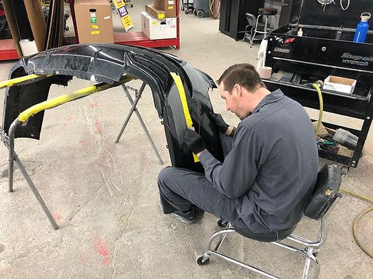 bumper repair rochester mi