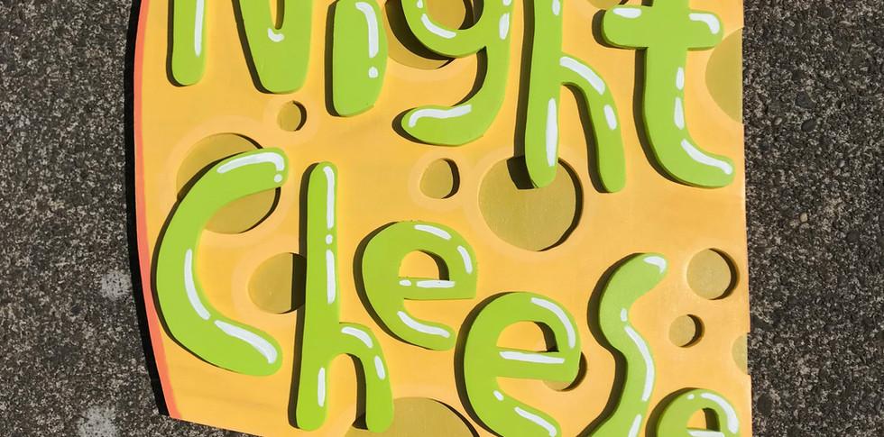 Night Cheese Sign (2019)