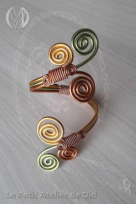 Bracelet « Féerie printanière »