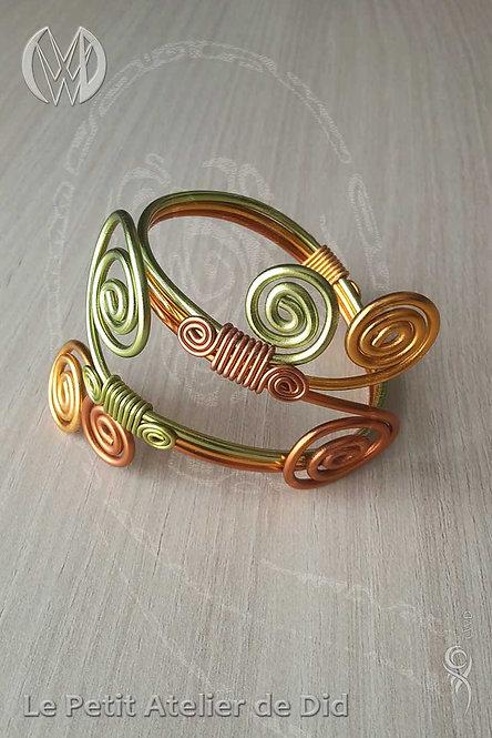 Bracelet « Féérie printannnière » - N