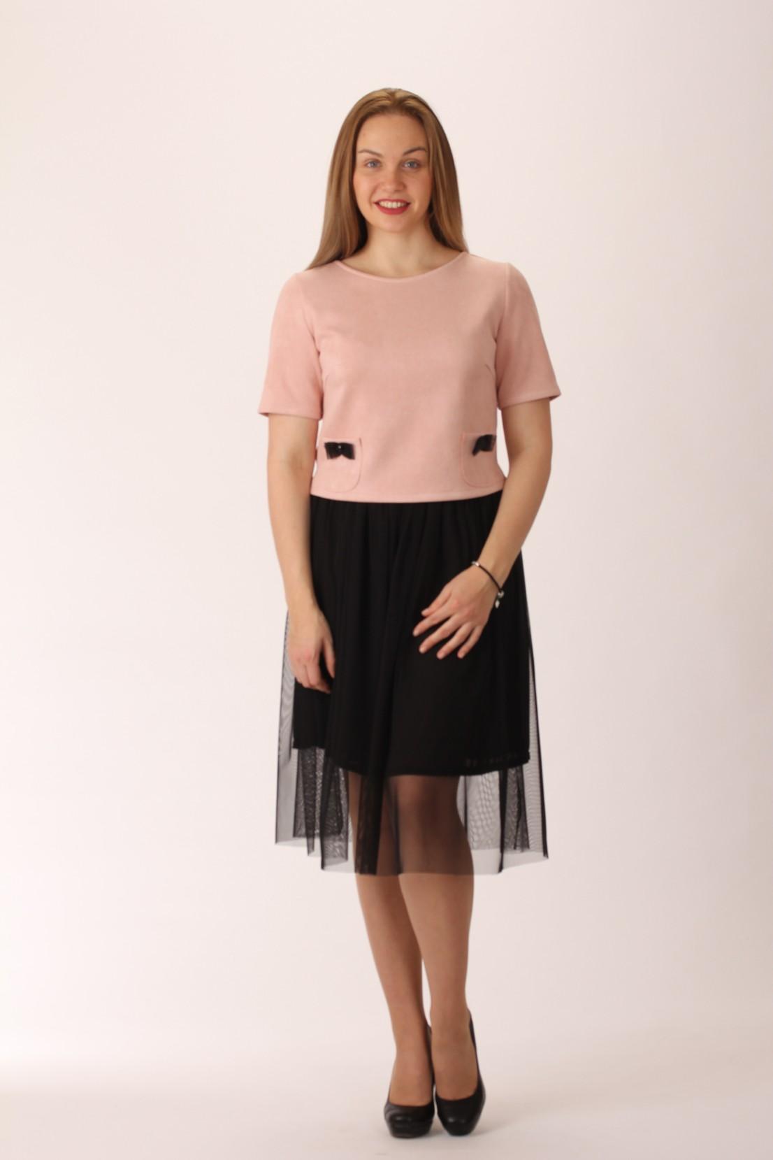 Комплект (блуза и юбка) 700.1