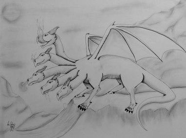 Scene 6 Image 1 Tiamat as a dragon