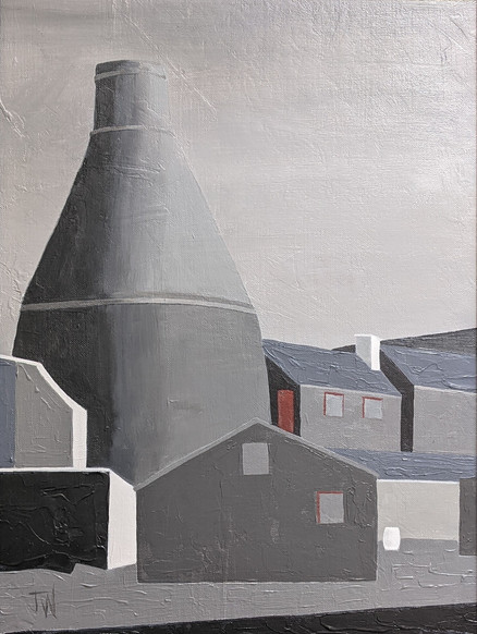 Bottle Oven at the Top Bridge Works, 2021