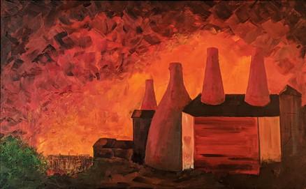 Gladstone and Roslyn Works, Fiery Skies