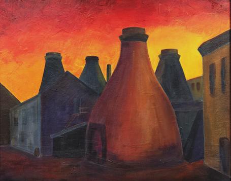 Spode Sunset 1930