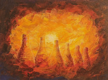 Bottle Oven Ghosts, Twyfords at Sunse