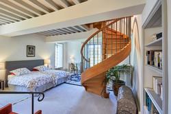 Loft Suite lower bedroom
