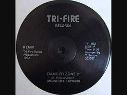 album cover midnight-express-danger-zone