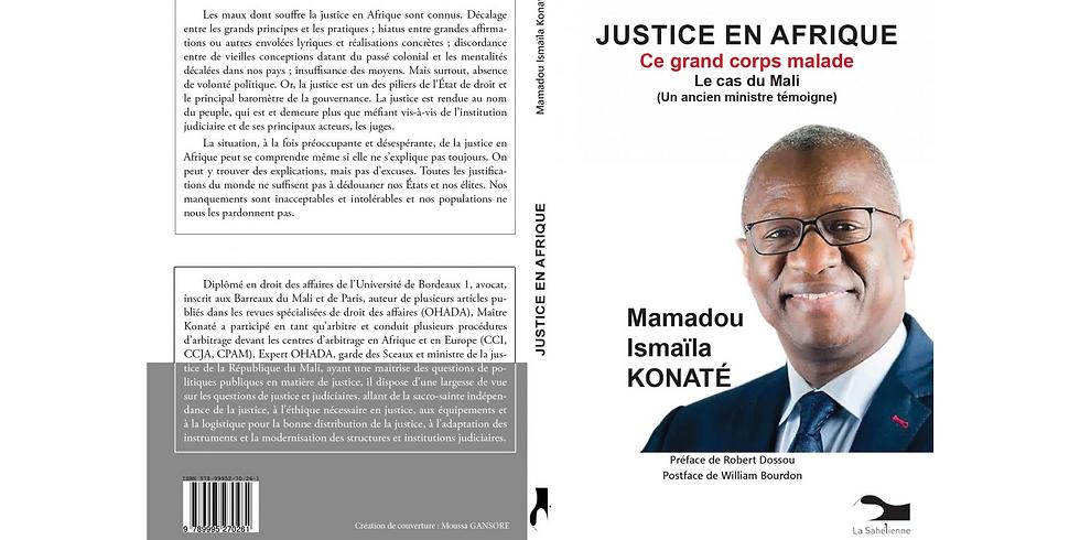 Conférence-dédicace de Maître Mamadou KONATE