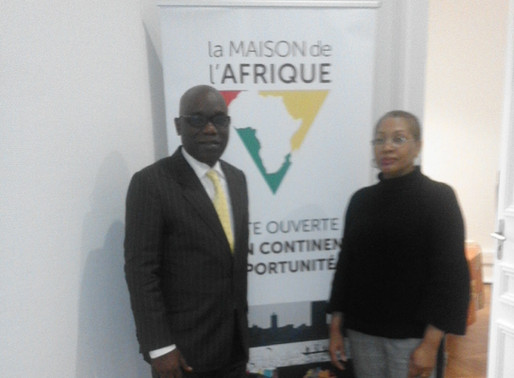 Séance d'échange avec M. Didier Mavouenzela, Président de la CCI de Pointe Noire!