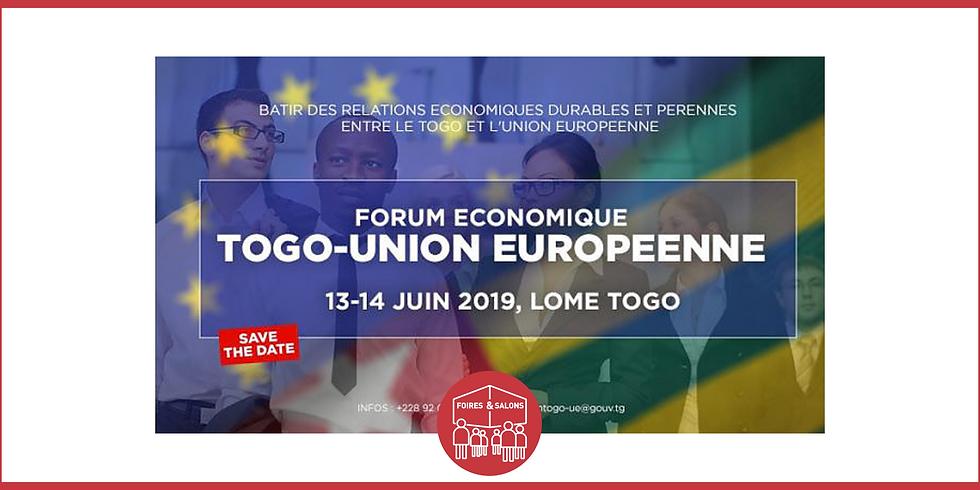 PREMIER FORUM ÉCONOMIQUE TOGO - UNION EUROPÉENNE