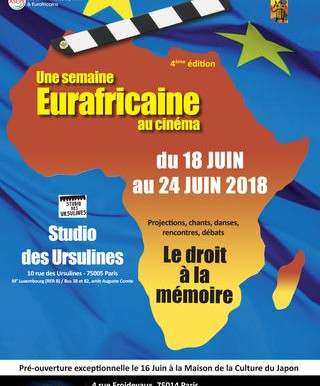 4E édition du festival « Une semaine Eurafricaine au cinéma»