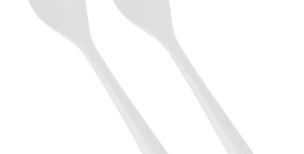 """Κουτάλια, C-PLA """"pure"""" 19 cm 25 (τμχ)"""