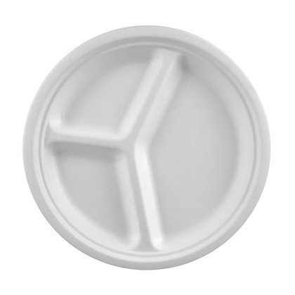 500 Πιάτα Σερβιρίσματος 3-θέσια Ø 26 cm 0,165€/Τεμάχιο