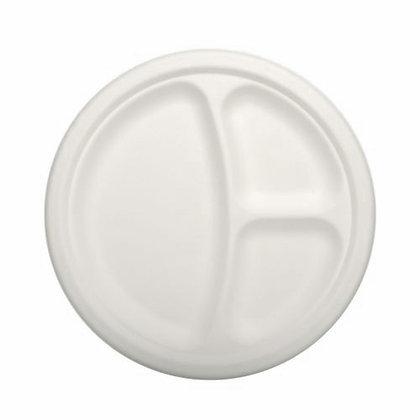 500 Πιάτα Σερβιρίσματος 3-θέσια Ø 23 cm 0,130€/Τεμάχιο