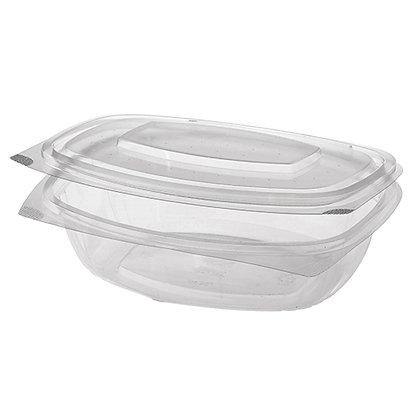 """200 Μπωλ σαλάτας με καπάκι, PLA """"pure"""" 1L 0,34€/Τεμάχιο"""