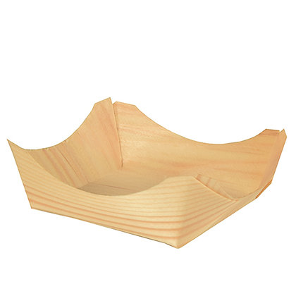 "500 Fingerfood - Μπώλ Τετράγωνο ""Boat"" 0.225€/Τεμάχιο"