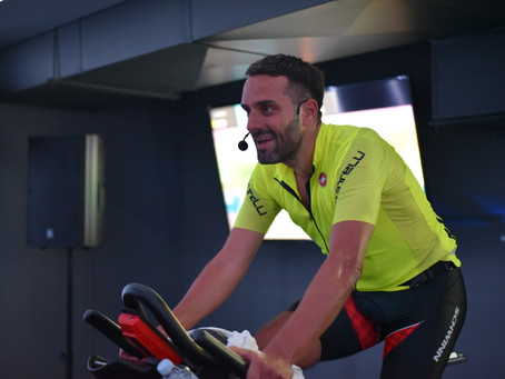 Elias Petridis Indoor Cycling Workout...