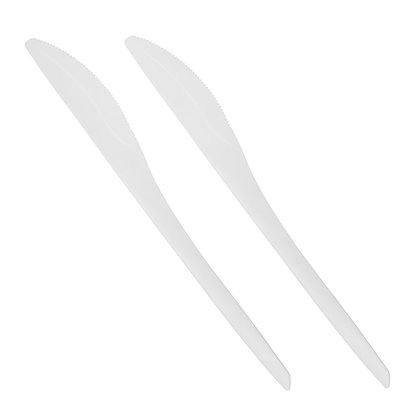 """1000 Μαχαίρια, C-PLA """"pure"""" 18,5 cm 0,1€/Τεμάχιο"""