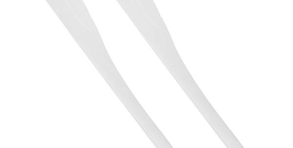 """Μαχαίρια, C-PLA """"pure"""" 18,5 cm 25 (τμχ)"""
