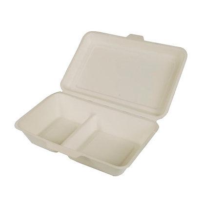 500 Φαγητοδοχεία 2-θέσια 6.5cm*24cm*15.5cm 0,2€/Τεμάχιο
