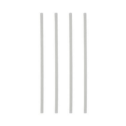 """1500 Καλαμάκια, PLA, """"pure"""" Ø 6 mm · 21 cm 0,015€/Τεμάχιο"""