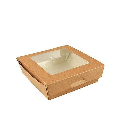 """100 Φαγητοδοχεία με παράθυρο, PLA """"pure"""", 1L 0,35€/Τεμάχιο"""