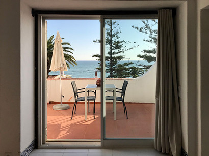 Terrace from sea view Studio