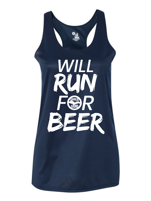 Will Run For Beer Shirt [Women's]