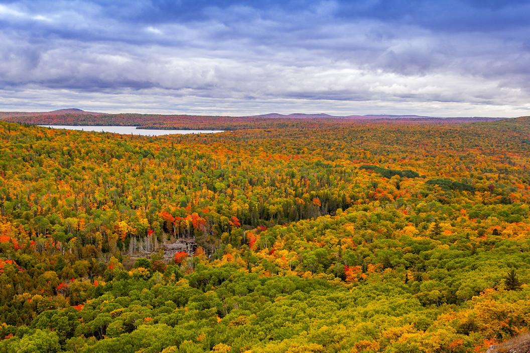 Fall Colors Brockway Mountain