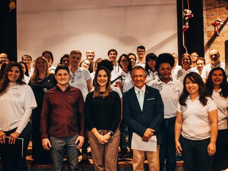 Rotary e Coro: 1º Natal com Pizza une música e solidariedade no Grande ABC