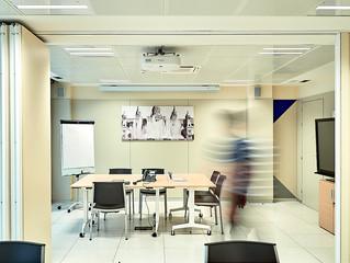 Luz inteligente, en las oficinas de Activa Mutua