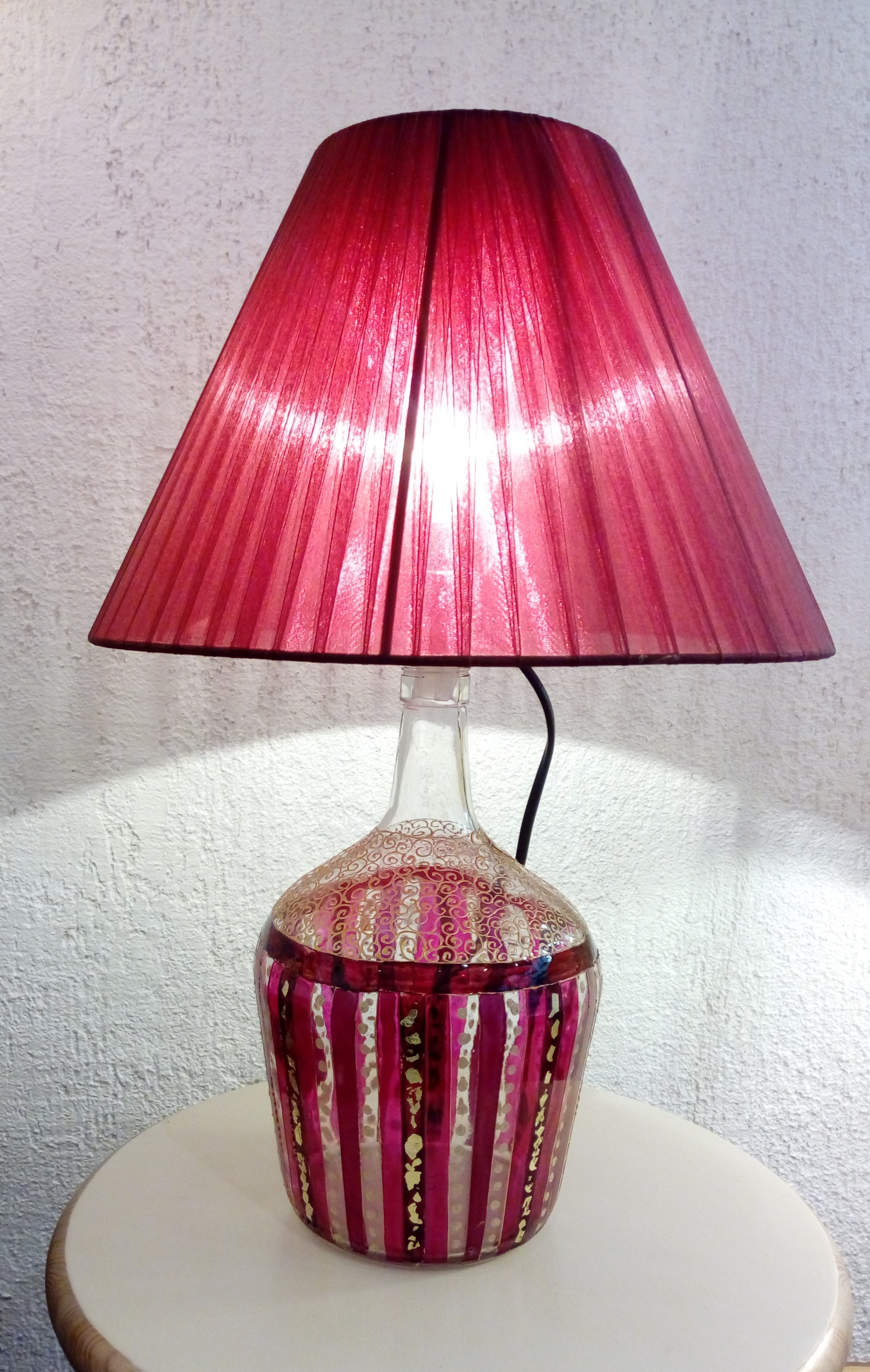 Lampe bouteille