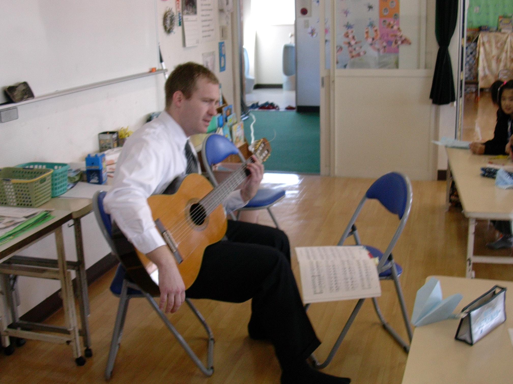 Group Guitar Instruction: Two Students