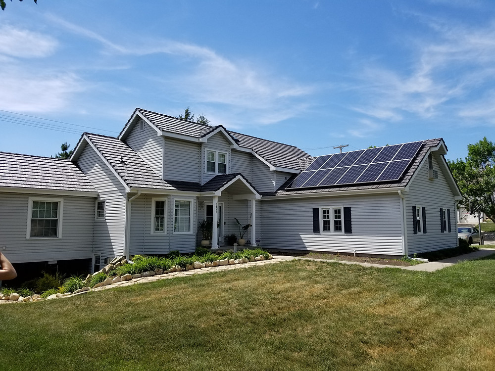 Residential grid-tied solar