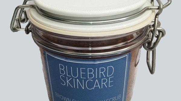 Unisex Lavender and Coconut Brown Sugar Body Scrub 350g