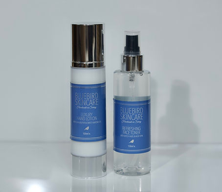Luxury Hand Lotion & Refreshing Face Ton