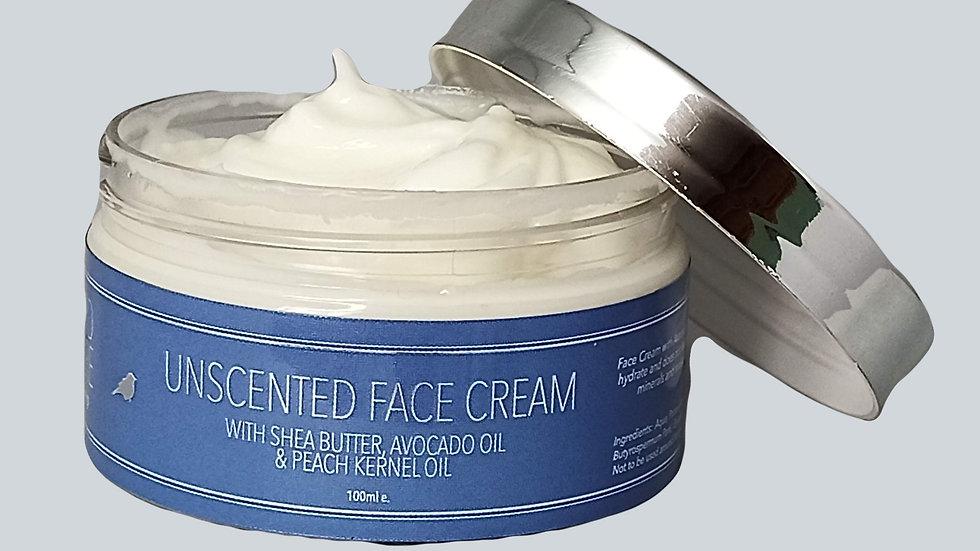 Unisex Unscented Face Cream 100ml