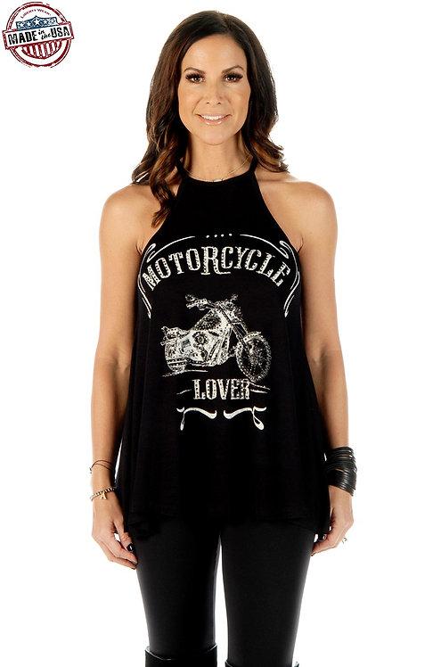 Motorcycle Club Lover Halter Top