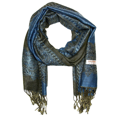 Pashmina Scarf Double Sided
