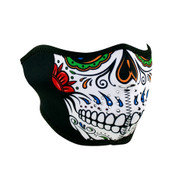 Half Mask Neoprene Muerte Skull
