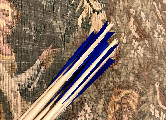 "Matched Warbow Arrows x5 (30"" 90lb-110lb)"