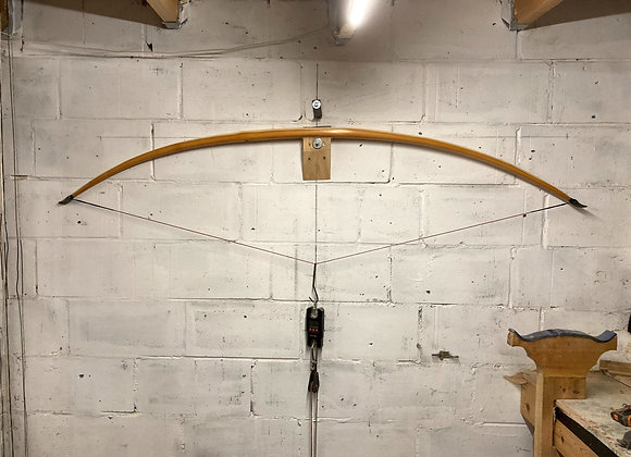 """Oregon Yew warbow 126lb @ 30"""" max 31"""""""