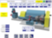 E3 Integrated Engineering - Controls & Automation - centrifuge system HMI screen