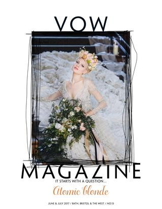 Vow Magazine Front Cover