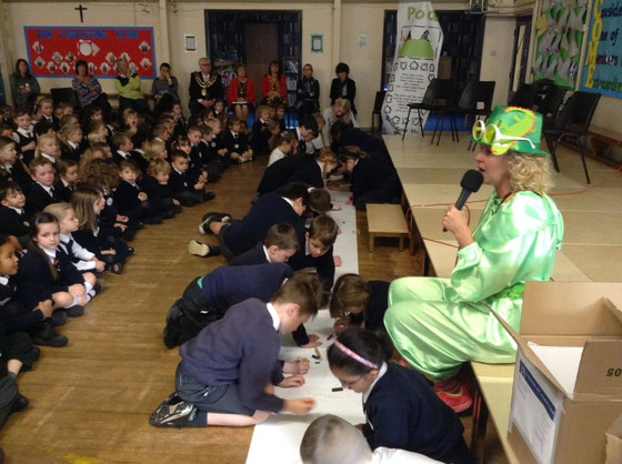 Moorfields Primary School gets on-board anti-bullying