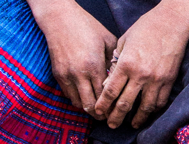 I will have soft hands, once I marry I don't have to work anymore  Sapa, Vietnam, 2013