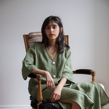 Samaher Bayazeed, 34 years old born and raised in Saudi Arabia. Samaher has been living in NY for last 4 years where she runs her digital fashion business.