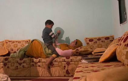 at Nana's home, Boujdour, Sahrawi Refugee Camp, Tinduf, Dec 2016