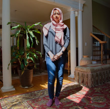 Dina Fahmi, 27 years old born and raised in Kentucky to Egyptian parents. Dina is a consular at a residential center for violent teenager girls.